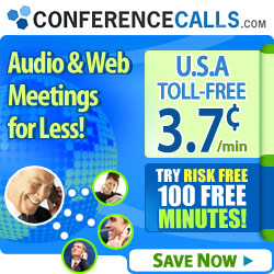 ConferenceCalls.com Audio and Web Conferencing