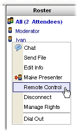 Enabling Remote Control