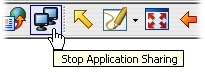 Stop Application Sharing